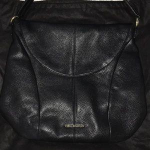 Vera Bradley black Alexa shoulder bag